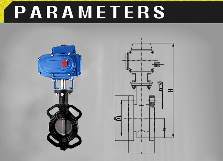 Factory supplier exhaust hydraulic audco electric actuator butterfly valve from China