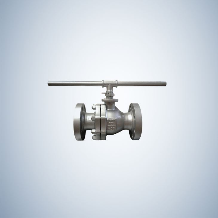 4 Inch Cast Steel Floating Ball Valve