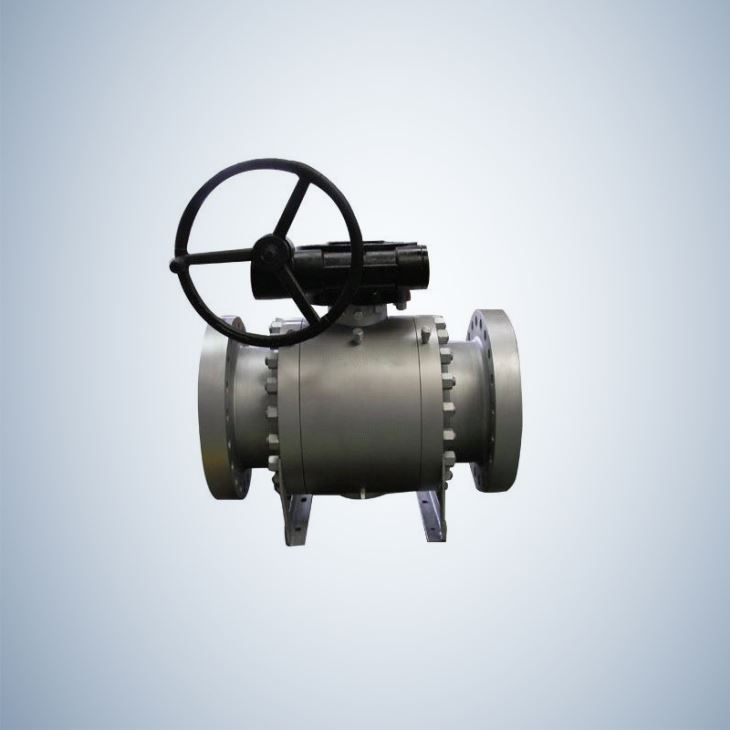 API 6D Forged Steel Trunnion Ball Valve