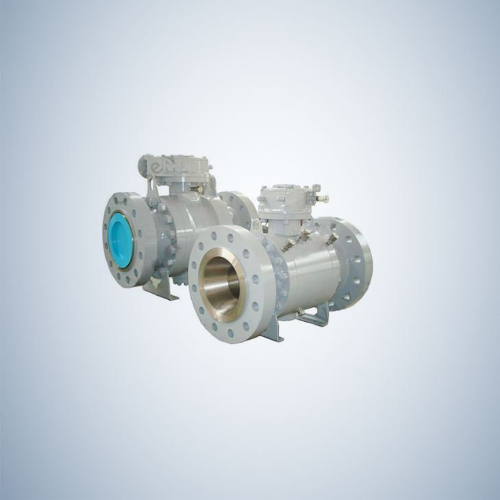 API Flanged Type forged Steel Trunnion Ball Valve