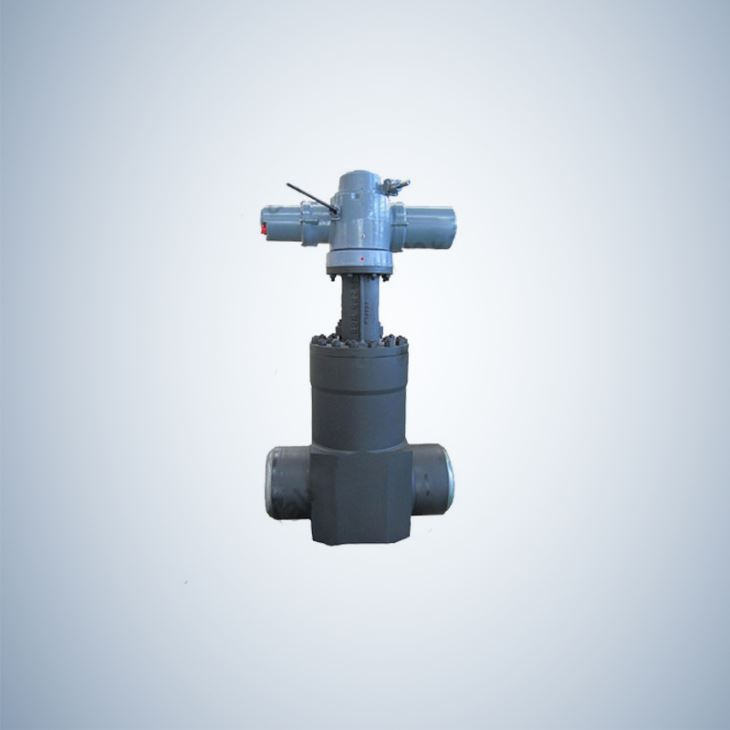 Cast Steel Butt Weld Ends Slab Gate Valve Pneumatic Actuator