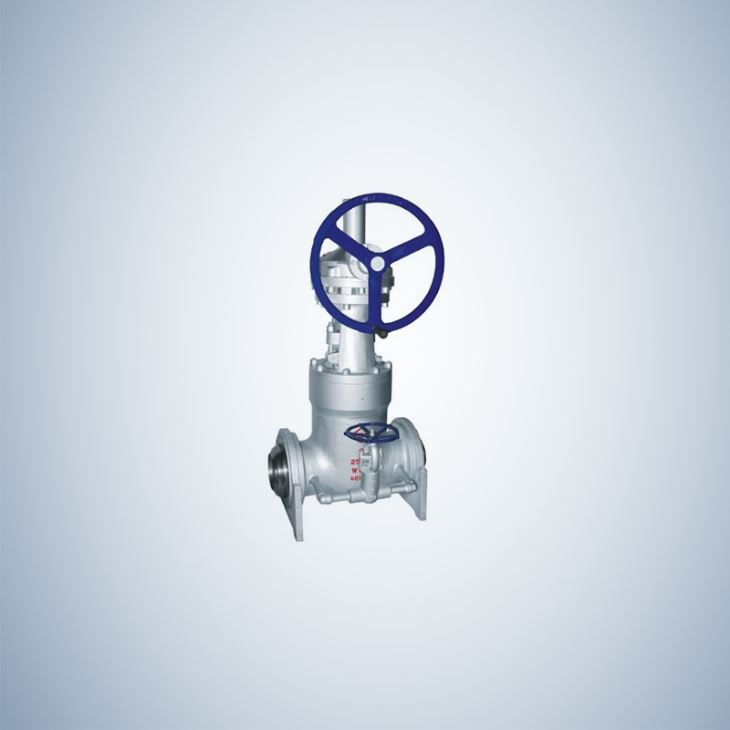 Cast Steel Pressure Seal Gate Valve with Bypass