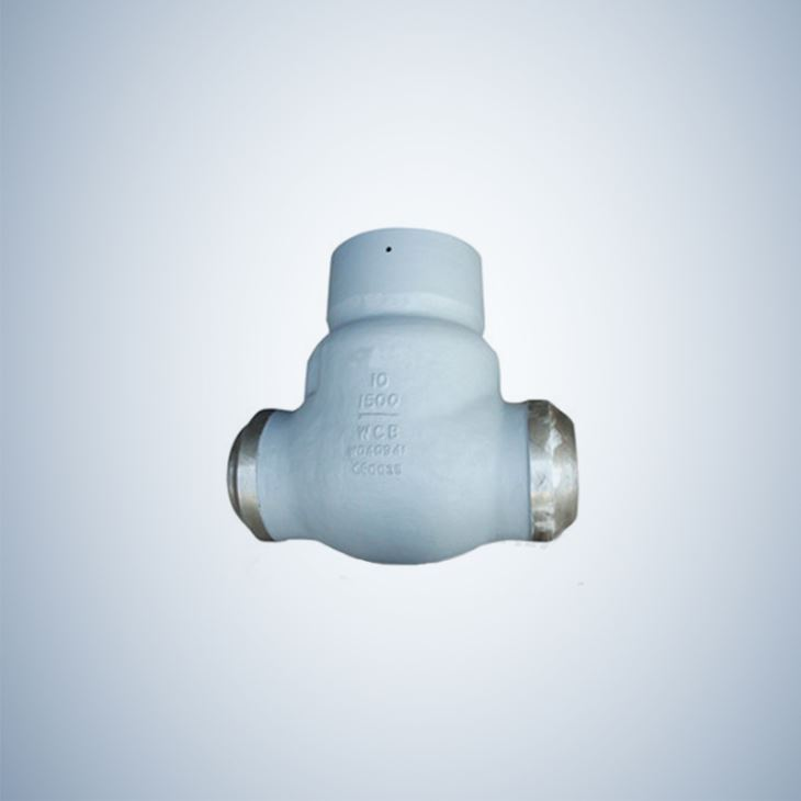 Cast Steel Pressure Sealing Check Valve BW Ends