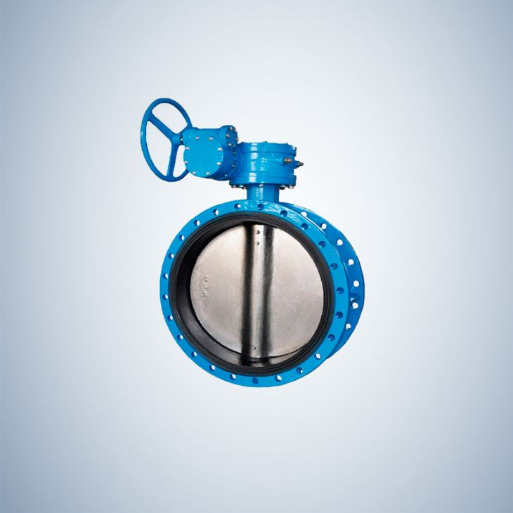 Disc Double Flange Concentric Butterfly Valve