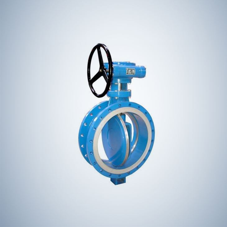 Double Flange Type Concentric Butterfly Valve