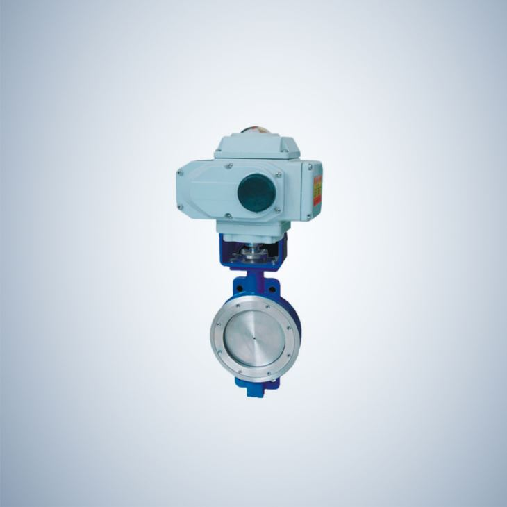 Electric Actuated Triple Offset Butterfly Valve