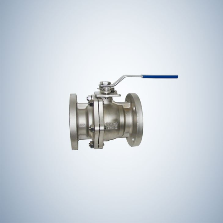 Cf8M Cast Steel Floating Type Ball Valve