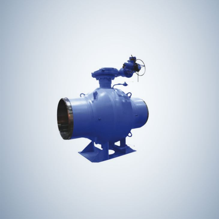 Fully Welded Gear Operated High Pressure Ball Valve
