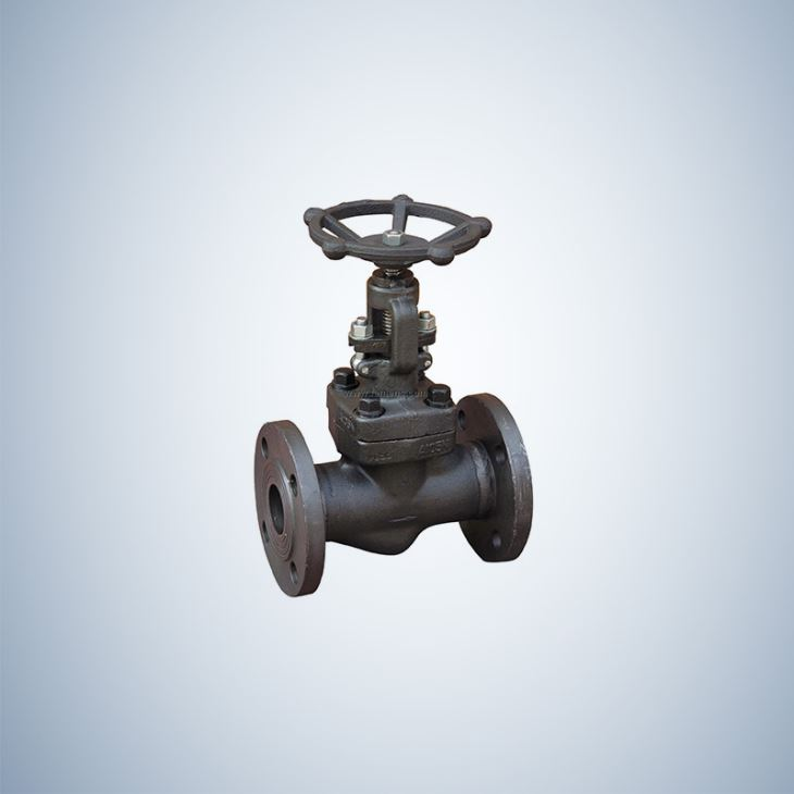 Hand Wheel Operated Bolted Bonnet Forged Globe Valve