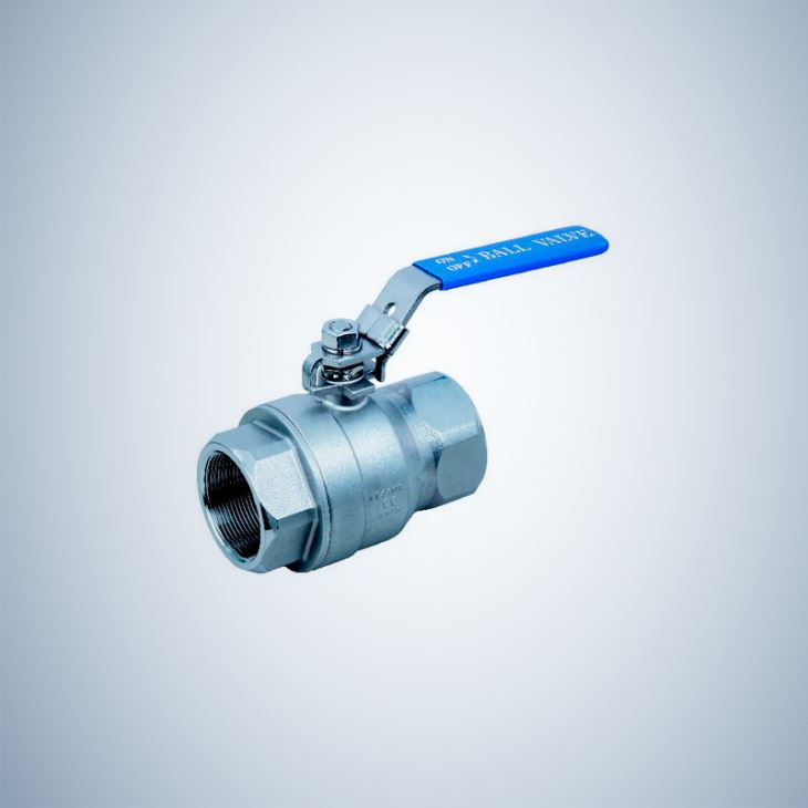 Lever Operated 2 Piece Threaded Ball Valve