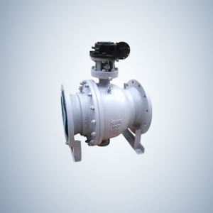 150Lb Reduced Port Cast Steel Trunnion Ball Valve