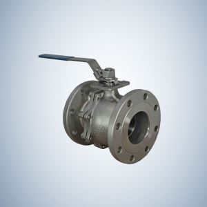 150Lbs Flange Ends 2 Piece Cast Steel Floating Ball Valve