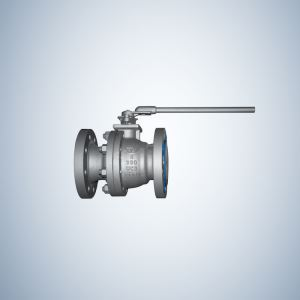2 Piece Cast Steel Floating Ball Valve