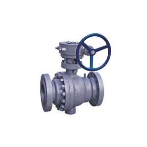2 Piece Cast Steel Trunnion Ball Valve