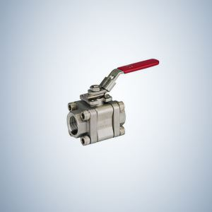 2000 WOG 1 Inch WOG 2000 3 Piece Bolted Ball Valve