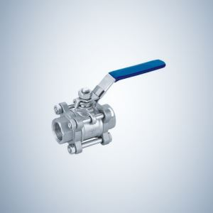 Threaded End 3 Piece Bolted Ball Valve