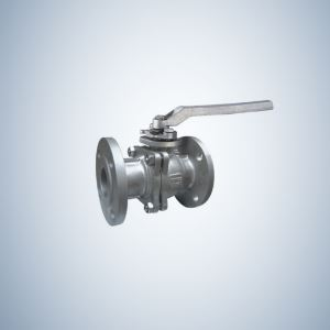 300Lbs Flange Ends Cast Steel Floating Ball Valve