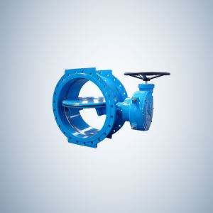 8 Inch Double Flange Double Offset Butterfly Valve