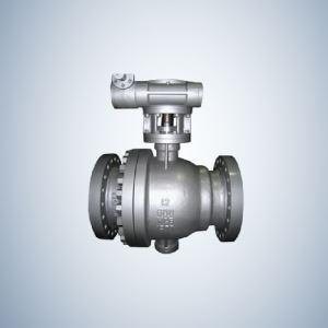 API 6D Designed Casting Trunnion Ball Valve