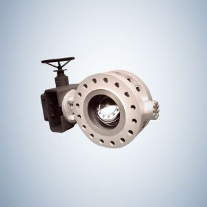Multi-Lever Hard Sealing Triple Offset Butterfly Valve