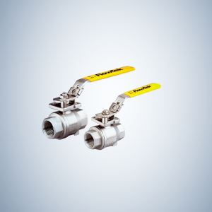 Cf8M Cast Steel 2 Piece Threaded Ball Valve