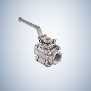 Cf8M Casting 3 Piece Bolted Ball Valve