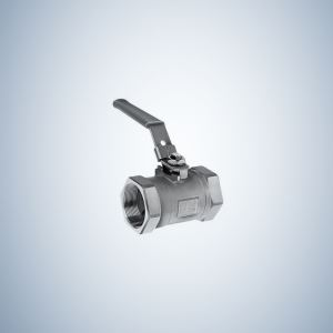 Cf8M Mini 1 Piece Threaded Ball Valve