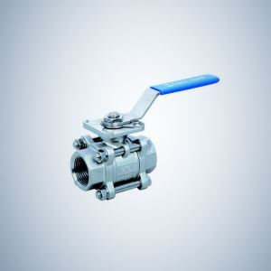Cf8M Socket 3 Piece Bolted Ball Valve
