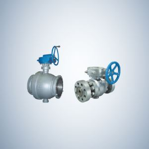 Class 150 Cast Steel Trunnion Ball Valve for Large Size