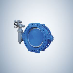 Double Eccentric Ductile Iron Double Offset Butterfly Valve