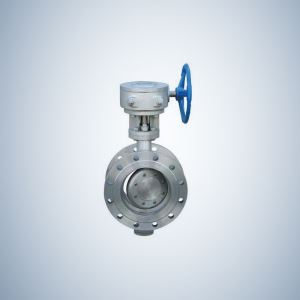 Double Flange Triple Offset Butterfly Valve