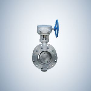 Worm Gear Double Offset Butterfly Valve