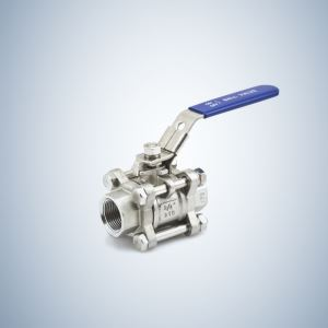 F316 3 Piece Bolted Ball Valve
