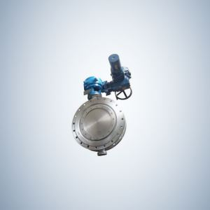 Flange Type Manual Triple Offset Butterfly Valve