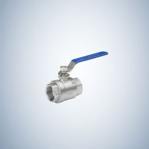 Flow 2 Piece Threaded Ball Valve