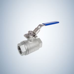 Forged Steel 2 Piece Threaded Ball Valve