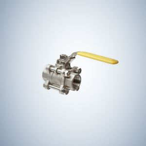 Stainless Steel Full Port 3 Piece Bolted Full Bore Ball Valve