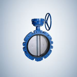 Gear Operated Butterfly Valve Worm Gear Actuated Lug Concentric Butterfly Valve