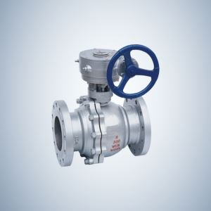Gear Operated Cast Steel Trunnion Ball Valve