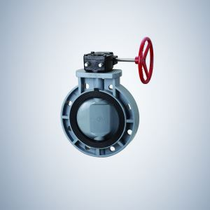 Gear Operated Double Offset Butterfly Valve
