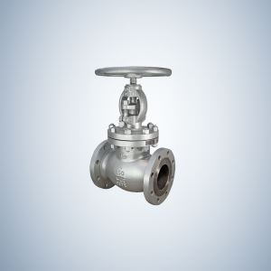 Hand Wheel Operated 4 Inch WCB Globe Valve