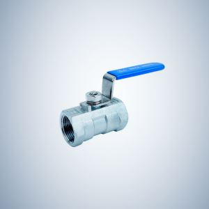 Stainless Steel 1 Piece Threaded Ball Valve