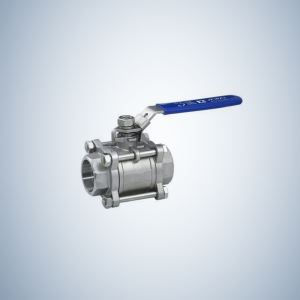 Stainless Steel 3 Piece Bolted Ball Valve