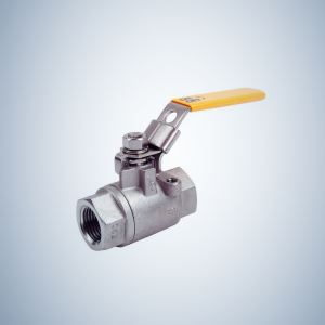 Stainless Steel Small Mini 2 Piece Threaded Ball Valve