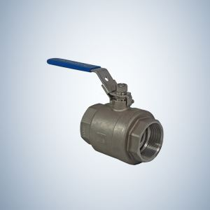 Stainless Steel Small Size 2 Piece Threaded Ball Valve