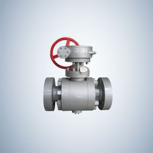 WCB Cast Steel Trunnion Mounted Ball Valve