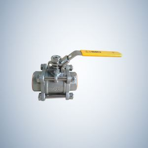 WOG1000 3 Piece Bolted Ball Valve