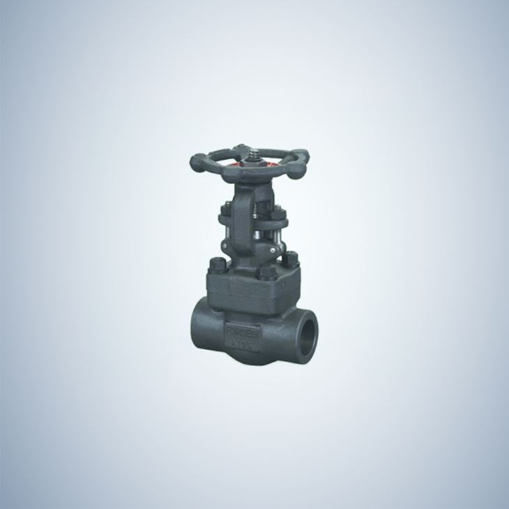 Threaded Forged Gate Valve Handle Operate