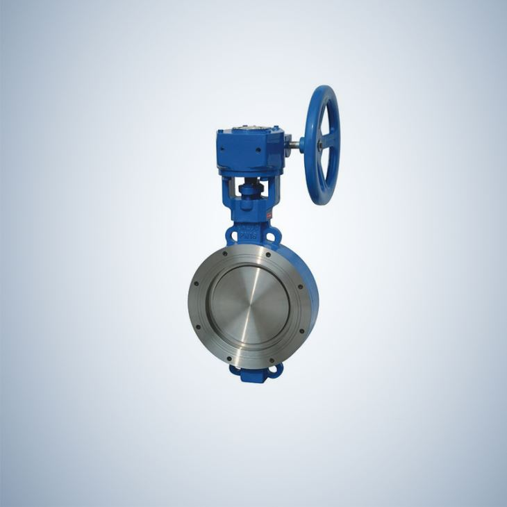 Manual Operated Triple Offset Triple Eccentric Butterfly Valves