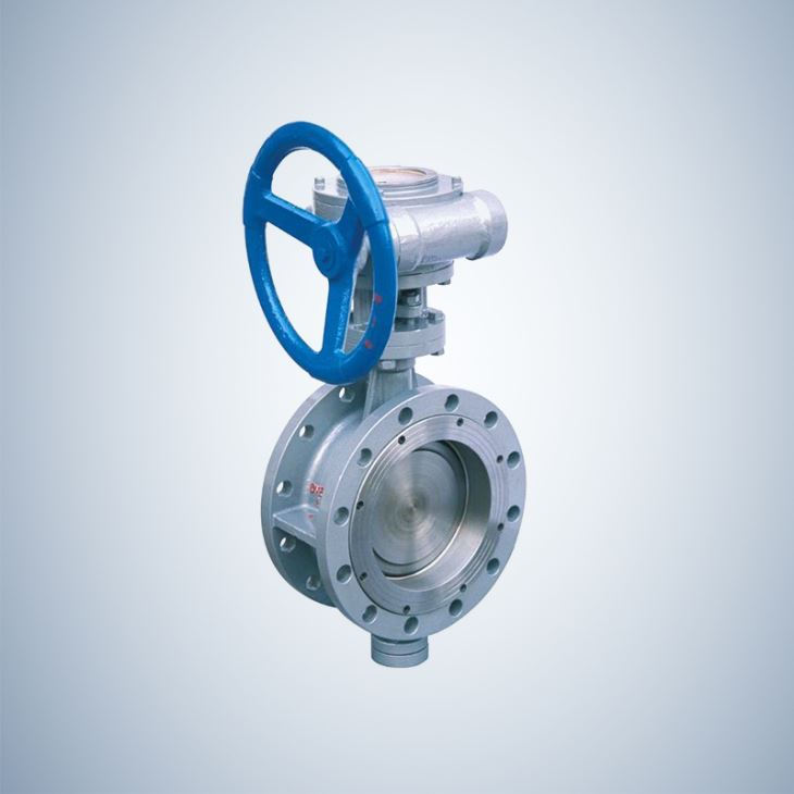 Worm Gear Flange Triple Offset Butterfly Valve